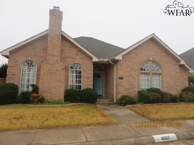 4007 Kingsbury Drive, Wichita Falls, TX 76309 (MLS #151379) :: WichitaFallsHomeFinder.com