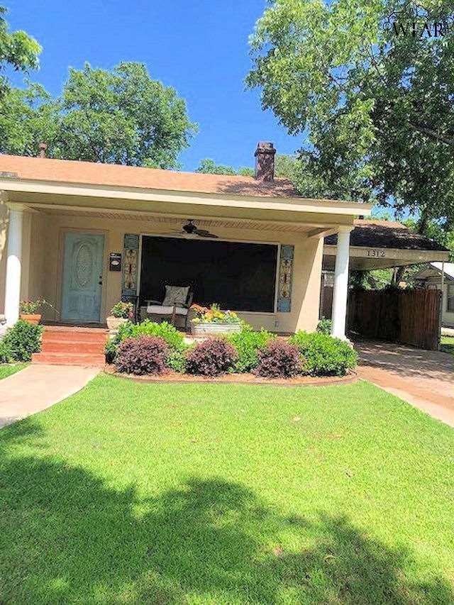 1312 Grant Street, Wichita Falls, TX 76309 (MLS #153383) :: WichitaFallsHomeFinder.com