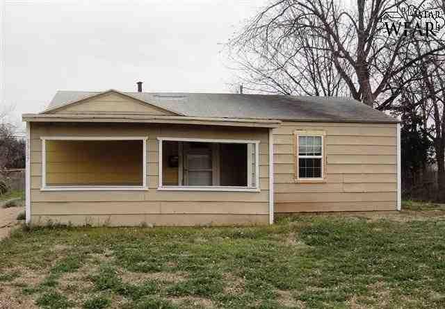 3307 Grant Street, Wichita Falls, TX 76308 (MLS #153593) :: WichitaFallsHomeFinder.com