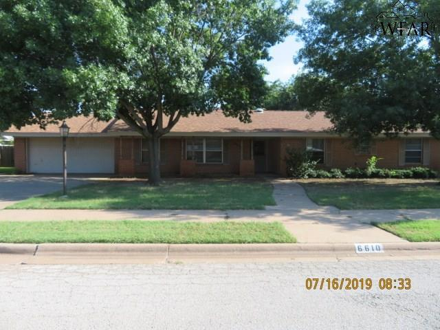6610 David Street, Wichita Falls, TX 76310 (MLS #153810) :: WichitaFallsHomeFinder.com