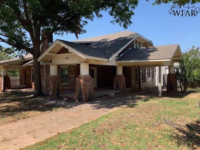 1510 Garfield Street, Wichita Falls, TX 76309 (MLS #154254) :: WichitaFallsHomeFinder.com