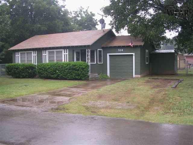 514 Rosewood Street, Burkburnett, TX 76354 (MLS #155017) :: WichitaFallsHomeFinder.com