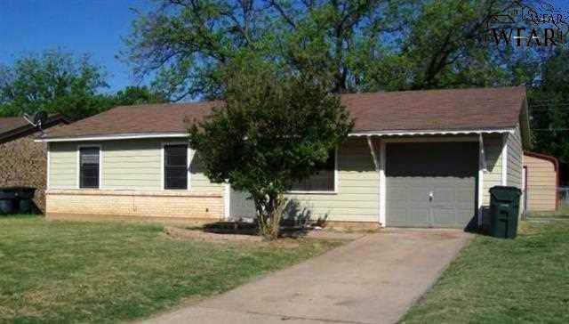 1428 Harris Lane, Wichita Falls, TX 76306 (MLS #155088) :: WichitaFallsHomeFinder.com