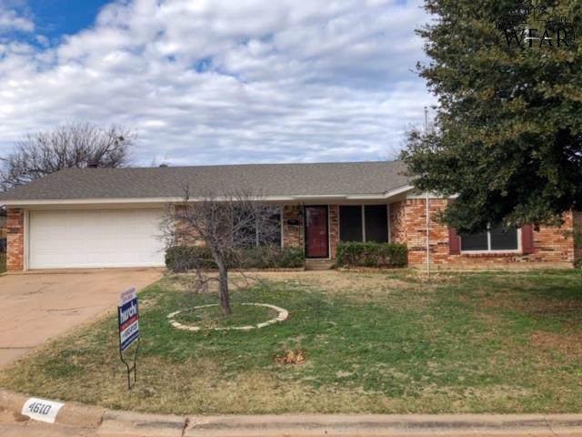 4610 Chuck Drive, Wichita Falls, TX 76310 (MLS #155634) :: WichitaFallsHomeFinder.com