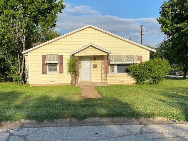 2020 Gilbert Avenue, Wichita Falls, TX 76301 (MLS #156713) :: WichitaFallsHomeFinder.com