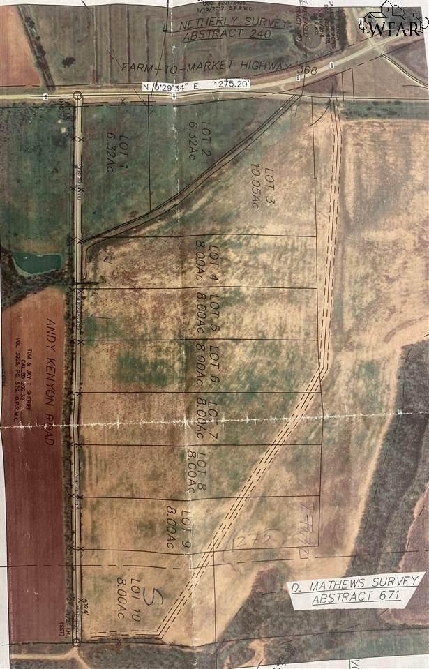 Lt 3 Fm 368, Iowa Park, TX 76367 (MLS #158393) :: WichitaFallsHomeFinder.com
