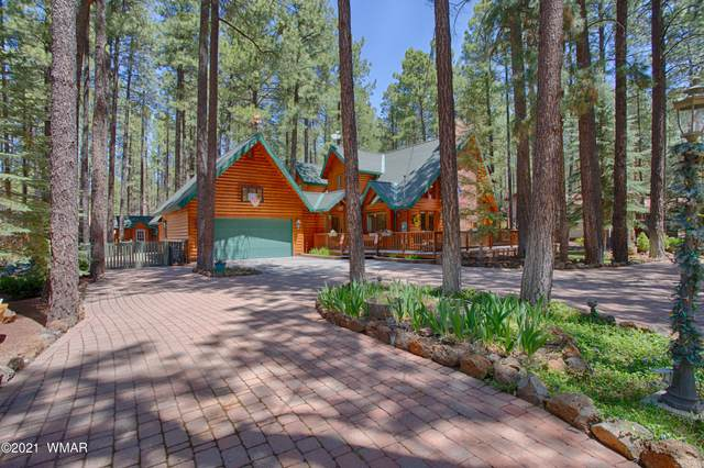 8508 Wild Horse Road, Pinetop, AZ 85935 (MLS #235345) :: Walters Realty Group