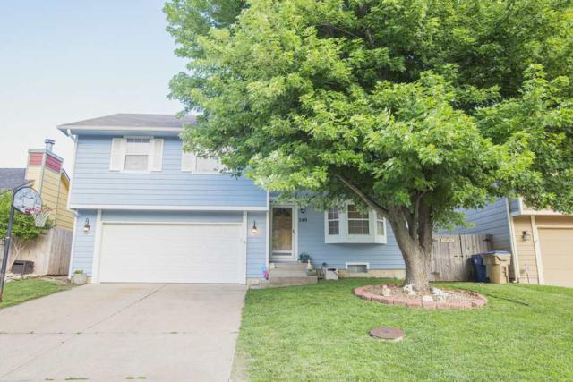 249 W Village Lake, Derby, KS 67037 (MLS #537232) :: Better Homes and Gardens Real Estate Alliance