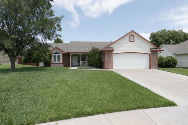 406 E Fieldstone St, Derby, KS 67037 (MLS #537287) :: Better Homes and Gardens Real Estate Alliance