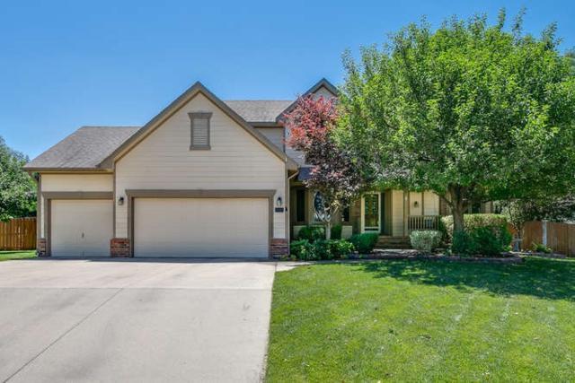 1410 N Briarwood Pl, Derby, KS 67037 (MLS #537334) :: Better Homes and Gardens Real Estate Alliance