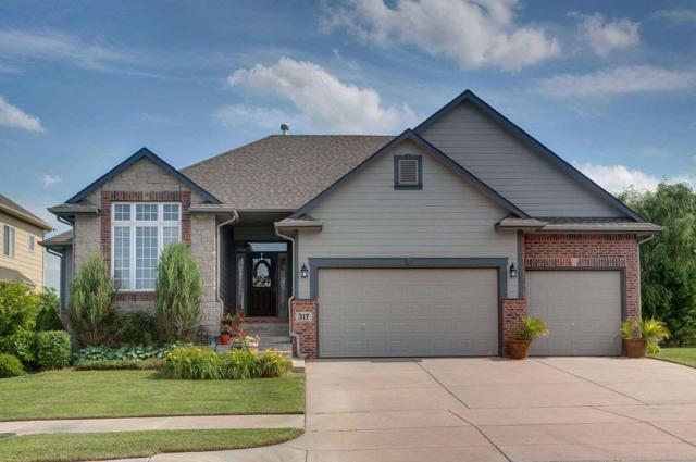 317 E Crescent Lakes Dr., Andover, KS 67002 (MLS #538070) :: Select Homes - Team Real Estate