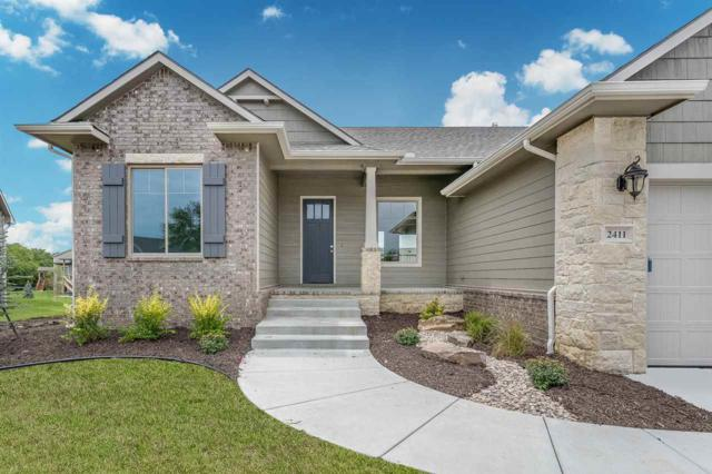 2411 N Silverdale, Andover, KS 67002 (MLS #539025) :: Select Homes - Team Real Estate