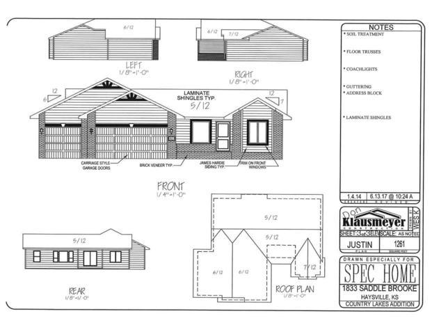 1833 S Saddle Brooke, Haysville, KS 67060 (MLS #539990) :: Select Homes - Team Real Estate