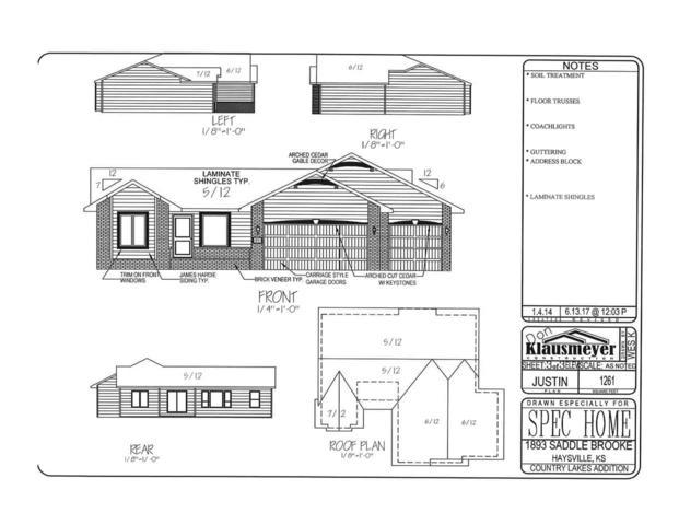 1893 Saddle Brooke, Haysville, KS 67060 (MLS #539994) :: Select Homes - Team Real Estate
