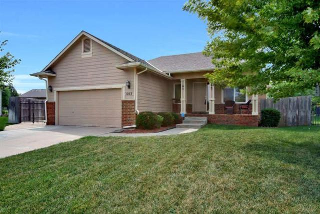 603 Brentwood Place, Andover, KS 67002 (MLS #541486) :: Select Homes - Team Real Estate