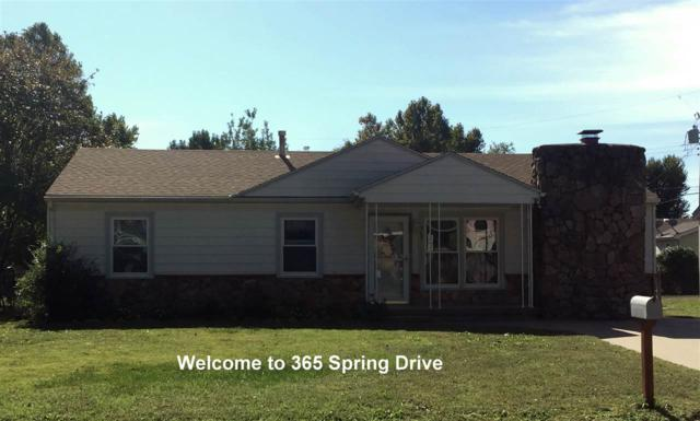 365 Spring Drive, Haysville, KS 67060 (MLS #543039) :: Select Homes - Team Real Estate