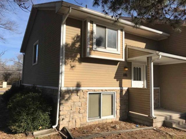 3210 S Handley St Unit #101, Wichita, KS 67217 (MLS #544589) :: On The Move