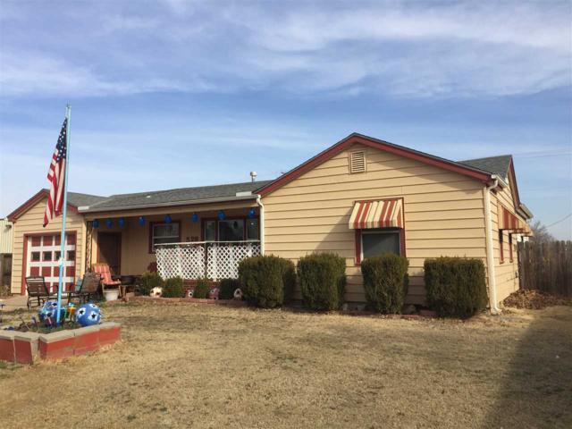 528 N Main St, Caldwell, KS 67022 (MLS #545649) :: Select Homes - Team Real Estate