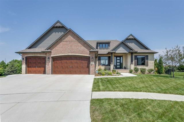 1348 Lookout Cir, Derby, KS 67037 (MLS #545710) :: On The Move