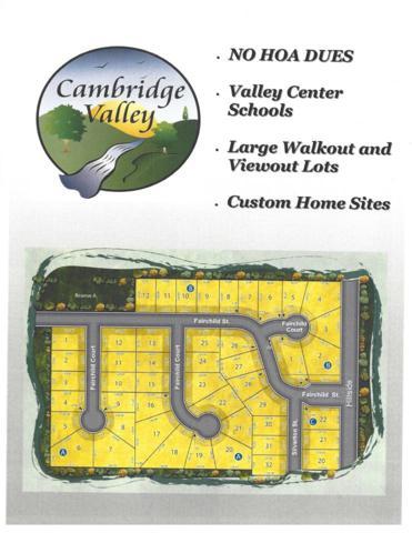 Lot 20 Block C Cambridge Valley Add, Park City, KS 67219 (MLS #547028) :: On The Move
