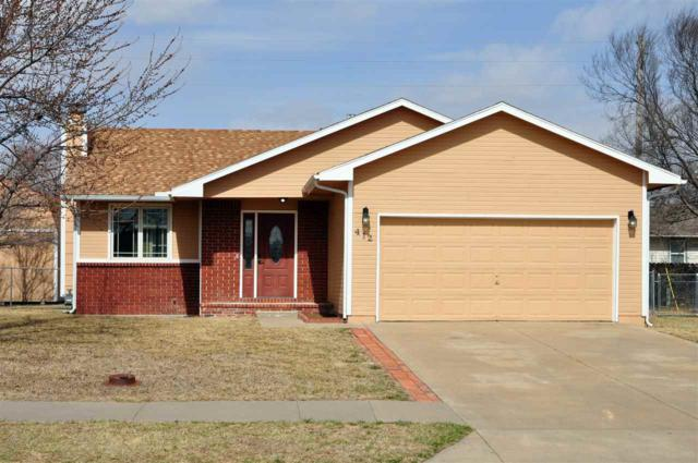 412 E School St, Rose Hill, KS 67133 (MLS #548058) :: Select Homes - Team Real Estate