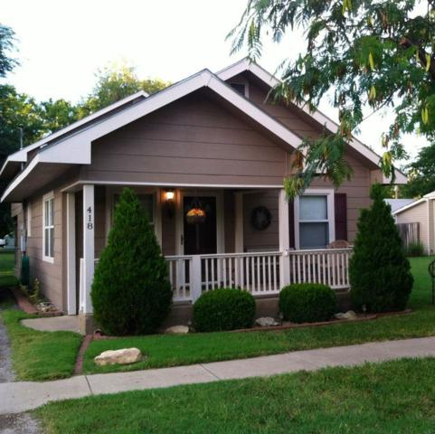 418 E 1ST ST, Douglass, KS 67039 (MLS #548112) :: On The Move