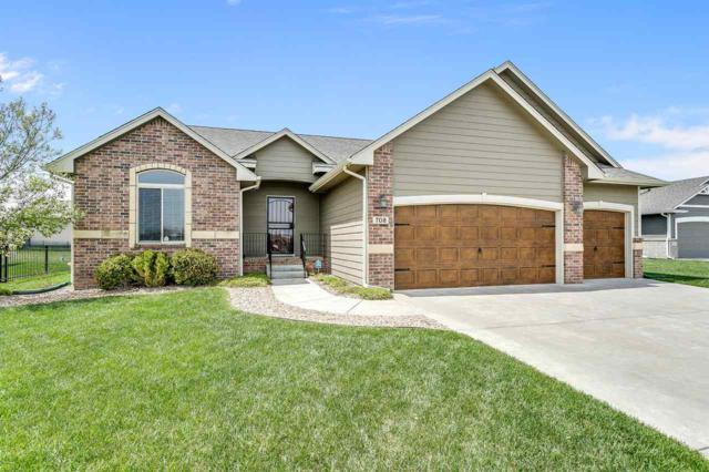 708 W Sandstone Ct, Andover, KS 67002 (MLS #550322) :: Select Homes - Team Real Estate