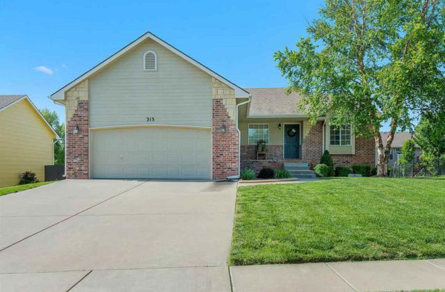 313 E Stone Creek St, Derby, KS 67037 (MLS #551617) :: Select Homes - Team Real Estate