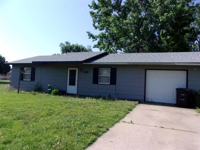 1103 W Colorado, Arkansas City, KS 67005 (MLS #552336) :: On The Move