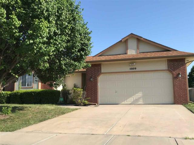 5809 E Pepperwood Cir, Wichita, KS 67220 (MLS #552835) :: Glaves Realty