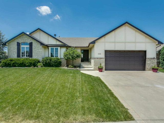 1313 E Summerlyn Dr, Derby, KS 67037 (MLS #554136) :: Better Homes and Gardens Real Estate Alliance