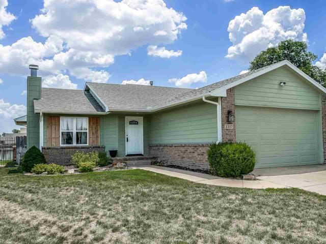 1317 E Harvest Lane Cir, Goddard, KS 67052 (MLS #554186) :: Wichita Real Estate Connection