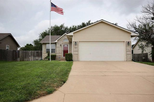 1845 S Chateau St, Wichita, KS 67207 (MLS #555548) :: Select Homes - Team Real Estate