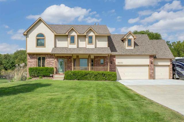 5401 S White Tail Cir, Wichita, KS 67217 (MLS #557219) :: On The Move