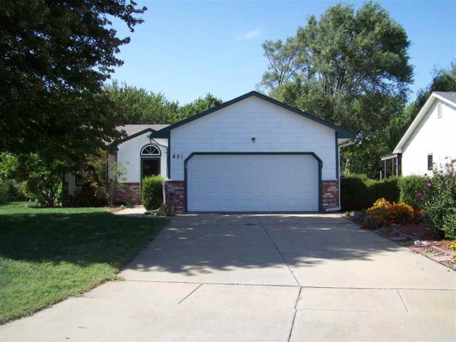 821 N Meadow Rd, Valley Center, KS 67147 (MLS #557858) :: Select Homes - Team Real Estate