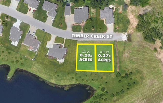 .27 +/- Acre Lo Timber Creek Estates, Haysville, KS 67060 (MLS #558219) :: Better Homes and Gardens Real Estate Alliance