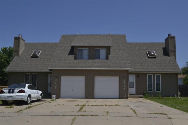 2122 S White Oak Cir 2124 S White Oa, Wichita, KS 67207 (MLS #558302) :: Better Homes and Gardens Real Estate Alliance
