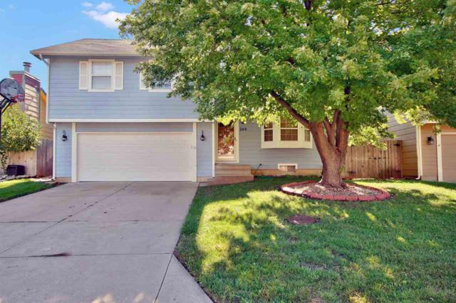 249 W Village Lake Dr, Derby, KS 67037 (MLS #558485) :: Select Homes - Team Real Estate