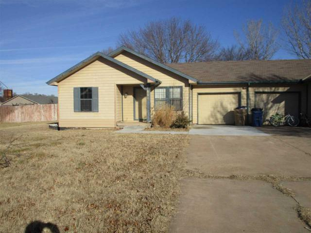 808 E 3rd St., Douglass, KS 67039 (MLS #558770) :: On The Move