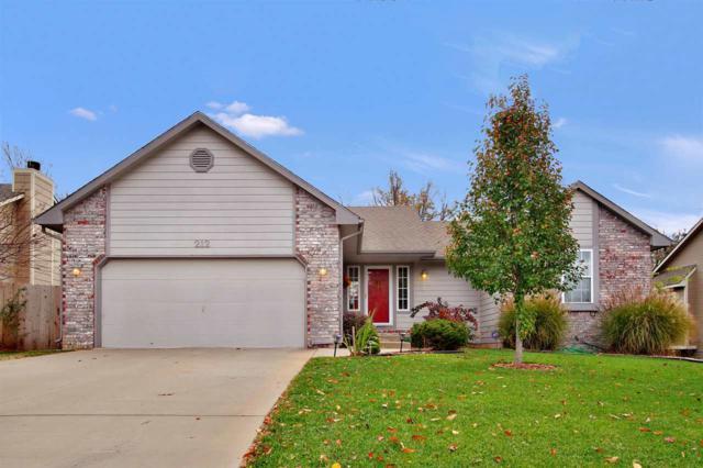 212 N Walnut Creek Dr, Derby, KS 67037 (MLS #559319) :: Select Homes - Team Real Estate