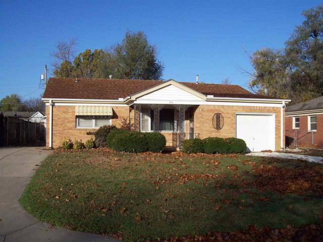 233 Hungerford Ave, Haysville, KS 67060 (MLS #559422) :: Select Homes - Team Real Estate