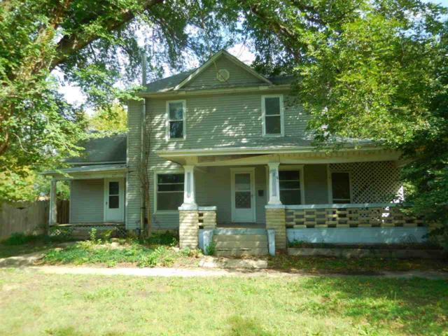 228 S Mission St, Council Grove, KS 66846 (MLS #559586) :: Wichita Real Estate Connection