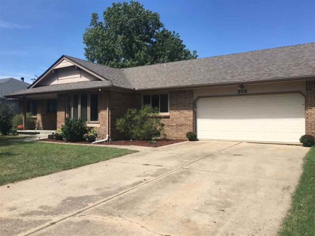 306 Brazos Dr, Goddard, KS 67052 (MLS #559846) :: On The Move