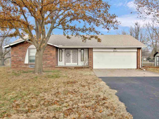 8243 S Peach Ln, Derby, KS 67037 (MLS #560404) :: Wichita Real Estate Connection