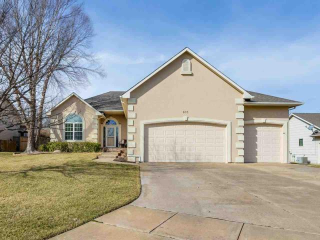 603 S Bent Tree Ct, Derby, KS 67037 (MLS #562511) :: Wichita Real Estate Connection
