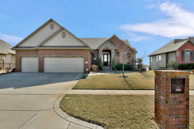 4303 W Emerald Bay St, Wichita, KS 67205 (MLS #562683) :: On The Move