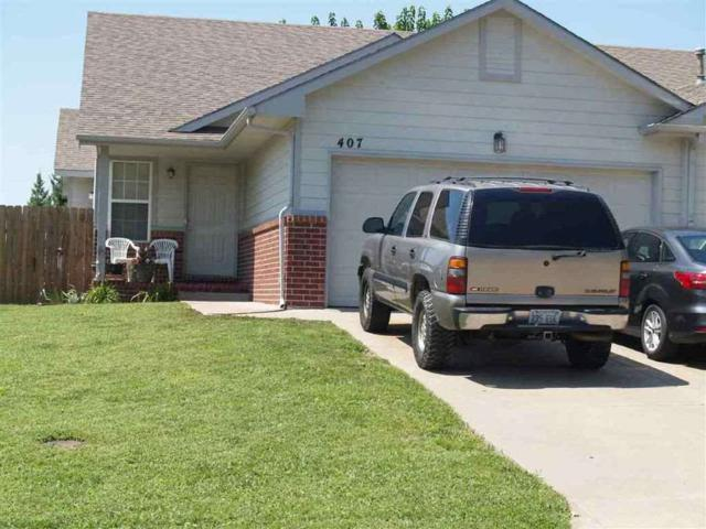 407 N Zachary Dr, Derby, KS 67037 (MLS #562900) :: On The Move