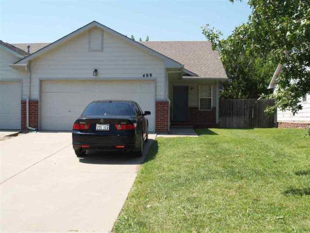 409 N Zachary Dr, Derby, KS 67037 (MLS #562901) :: On The Move