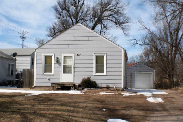 441 S Mccomas St, Wichita, KS 67213 (MLS #563335) :: On The Move