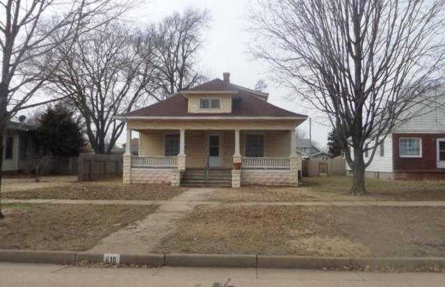 610 N Anthony Ave, Anthony, KS 67003 (MLS #563384) :: Wichita Real Estate Connection